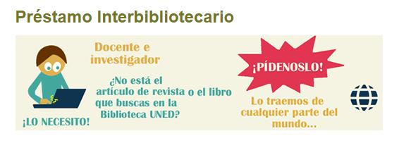 PRESTAMO INTERBIBLIOTECARIO UNED